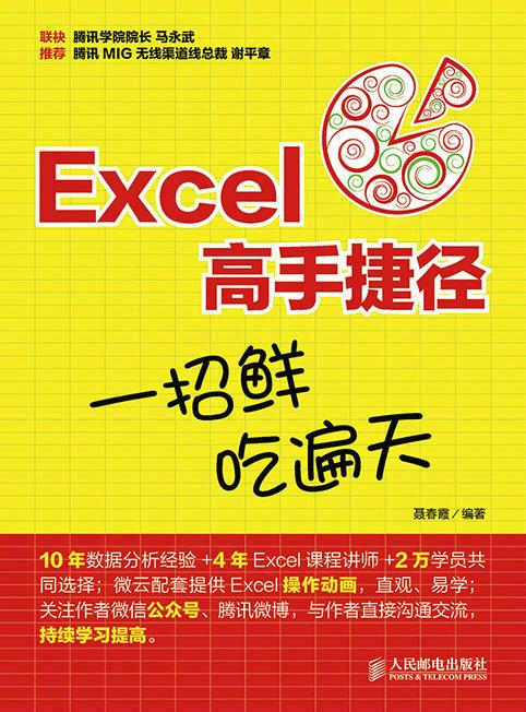 Excel高手捷径:一招鲜,吃遍天 PDF格式高清电子书免费下载