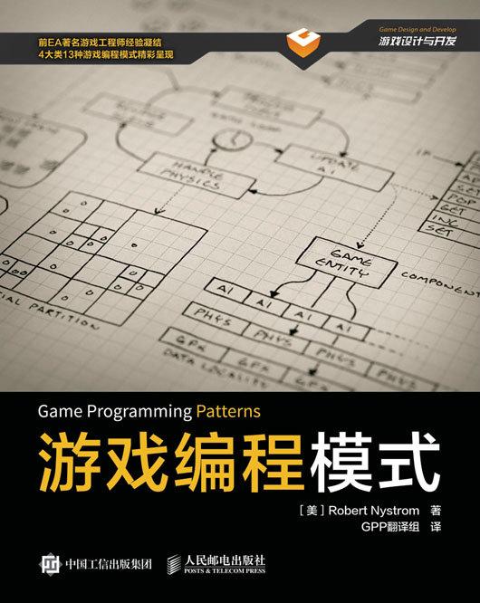 游戏编程模式 PDF格式高清电子书免费下载