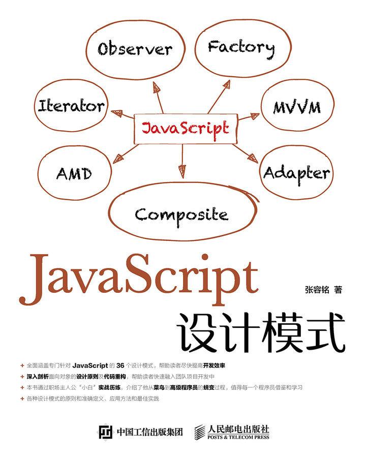 JavaScript设计模式 PDF格式高清电子书免费下载