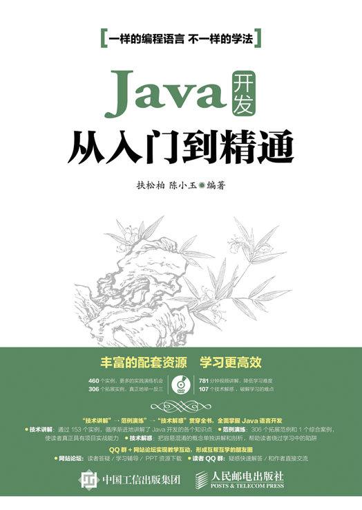 Java 开发从入门到精通 PDF格式高清电子书免费下载