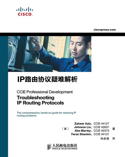 IP路由协议疑难解析 PDF格式高清电子书免费下载