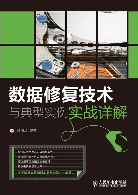 数据修复技术与典型实例实战详解 PDF格式高清电子书免费下载